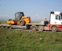 Transport cilindru compactor