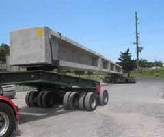 Transport grinzi beton