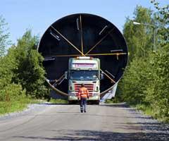 Transport siloz de cereale