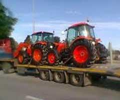Transport tractoare